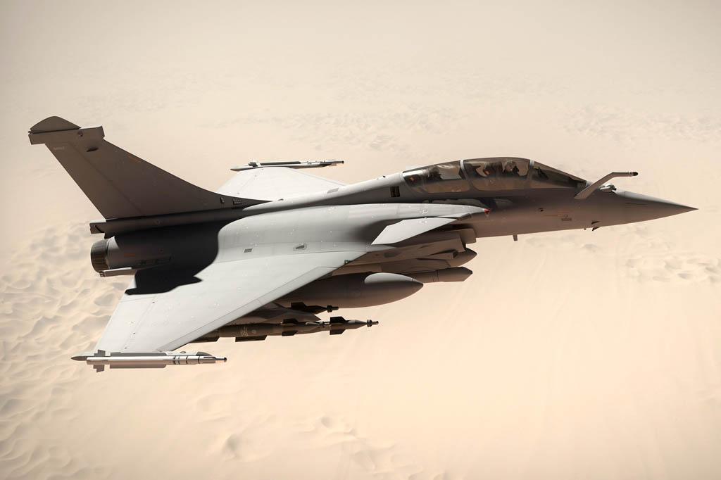 Dassault ha ganado, con el Rafale, los tres últimos grandes concursos de venta de cazas: India, Egipto y ahora Qatar.