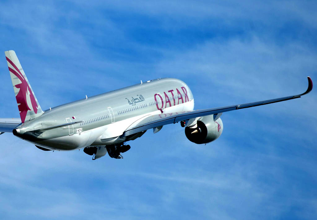 Airbus A350 de Qatar Airways