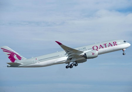Primer Airbus A350 de Qatar Airways