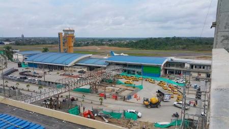 Aeropuerto de Quibdo, a unos 140 km al suroeste de Medellín (Colombia).