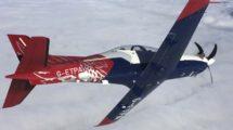 Reino Unido cedió la gestión de sus escuelas de vuelo militares a Qinetiq que está renovando la flota de aeronaves.