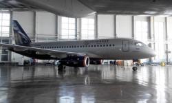El nuevo Sukhoi Superjet 100 de Aeroflot, matriculado RA-89028 hizo su primer vuelo el 16 de abril de 2014.