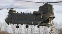 Uno de los últimos Boeing CH-47F (HC6) entregados a la RAF.