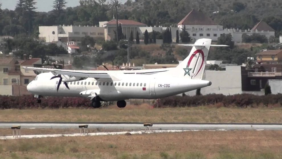 Los ATR 72 de RAM son operados por su filial Royal Air Maroc Express.