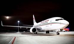 Boeing 737-700 con los que RAM volará a Bilbao.
