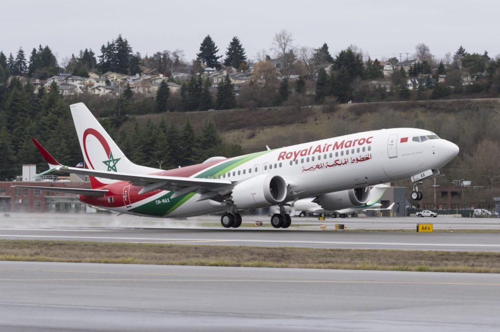 Royal Air Maroc ha aplicado a su primer Boeing 737 MAX la misma decoración especial que a su primer Boeing 787-9.