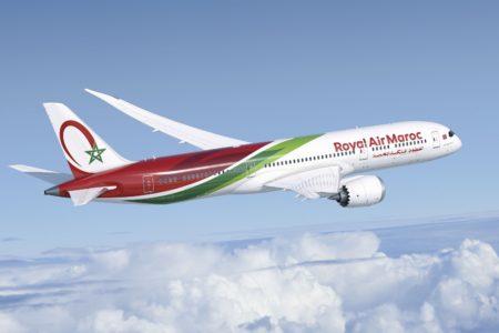 Boeing entregó a RAM su primer B-7879 el 11 de diciembre y el avión partió a continuación hacia Casablanca.