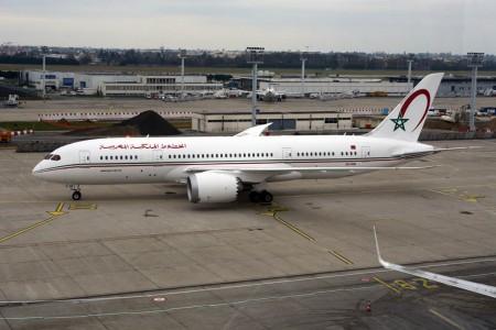 Boeing 787-8 de Royal Air Maroc en Orly