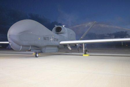 Los RQ-4D de la OTAN incorporarán nuevos sensores de acuerdo a las necesidades del la alianza.