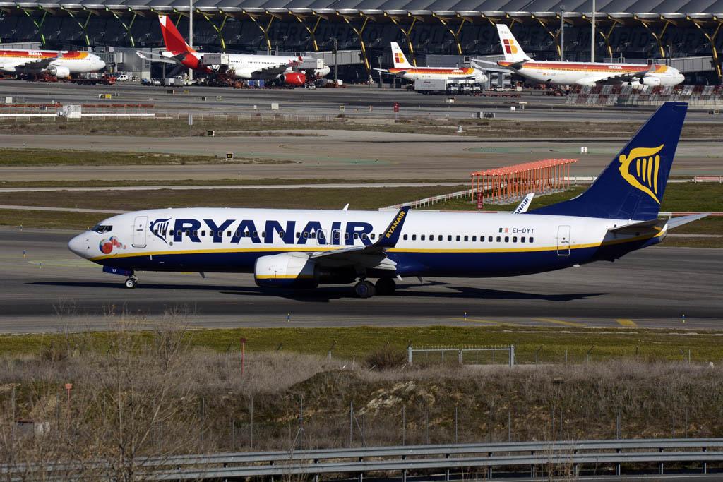 Boeing 737 de Ryanair