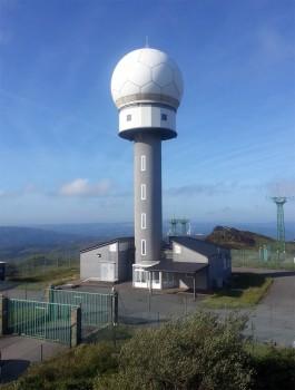 Nuevo radar de ruta y aproximación en As Pontes (La Coruña).