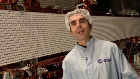 Ramon Torres, máximo responsable en la ESA del programa del Sentinel 1B.
