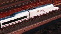AVE de Renfe de la Serie 100, uno de los que podrán usarse inicialmente en el servicio al aeropuerto de Madrid-Barajas.