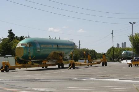 Fuselajes de Boeing 737