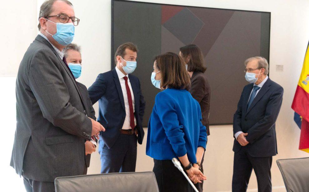 Reunión en La Moncloa entre Airbus y el gobierno español