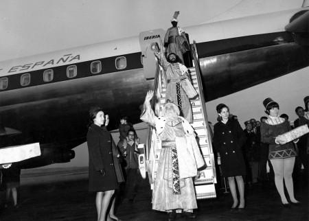 Llegada d elos Reyes Magos en 1962
