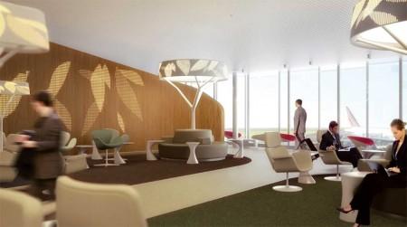Nueva Sala VIP de Air France en la S4