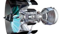 El Rolls-Royce Ultrafan incorporará nueva tecnologías en el diseño de los álabes además de una cámara de combustión más eficiente y un sistema de engranajes para que cada parte del motor gire a la velocidad adecuada en todas las fases del vuelo.