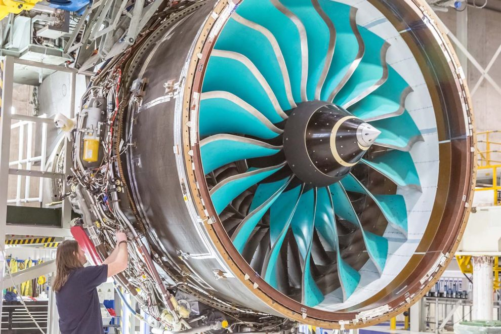 Primeras pruebas del Rolls-Royce Ultrafan.