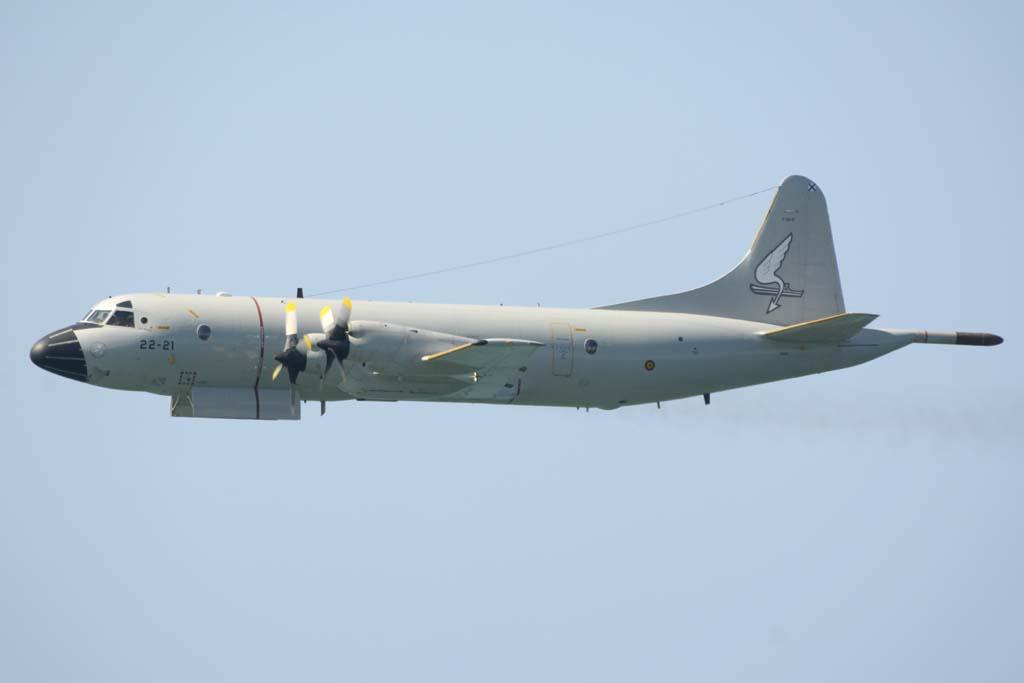 Los P.3 del Ejército del Aire cuentan entre sus tripulantes con personal de la Armada.
