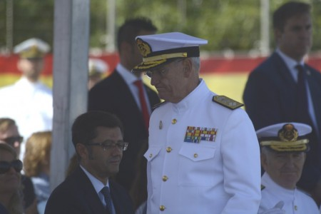 El almirante López Calderón es el máximo jefe de la Armada española.