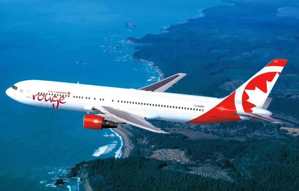 Boeing 767-300 de Rouge