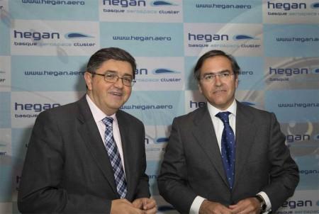De izquierda a derecha José Juez e Ignacio Mataix de Hegan