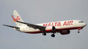 Ryanair ha recibido 17 B-737 MAX en el tercer trimestre de 2021, varios con los colores de sus filiales Air Malta y Buzz.