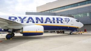 Boeing 737 de Ryanair.