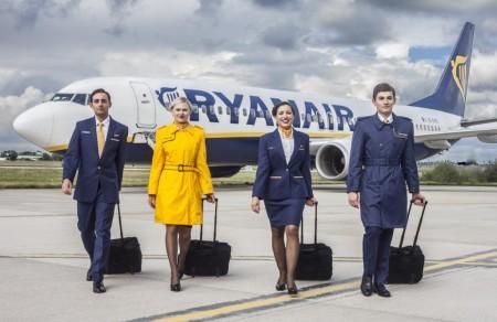 Los nuevos uniformes de Ryanair.