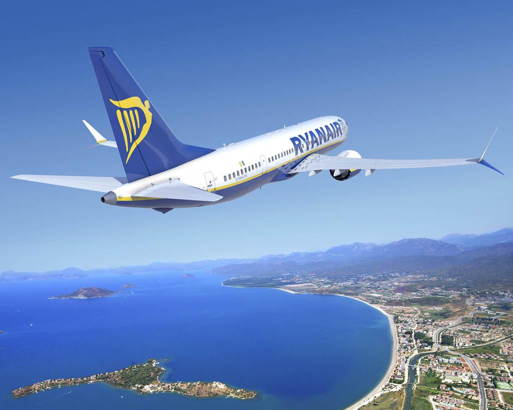 Ryanair es el cliente de lanzamiento del nuevo Boeing 737 MAX 200.