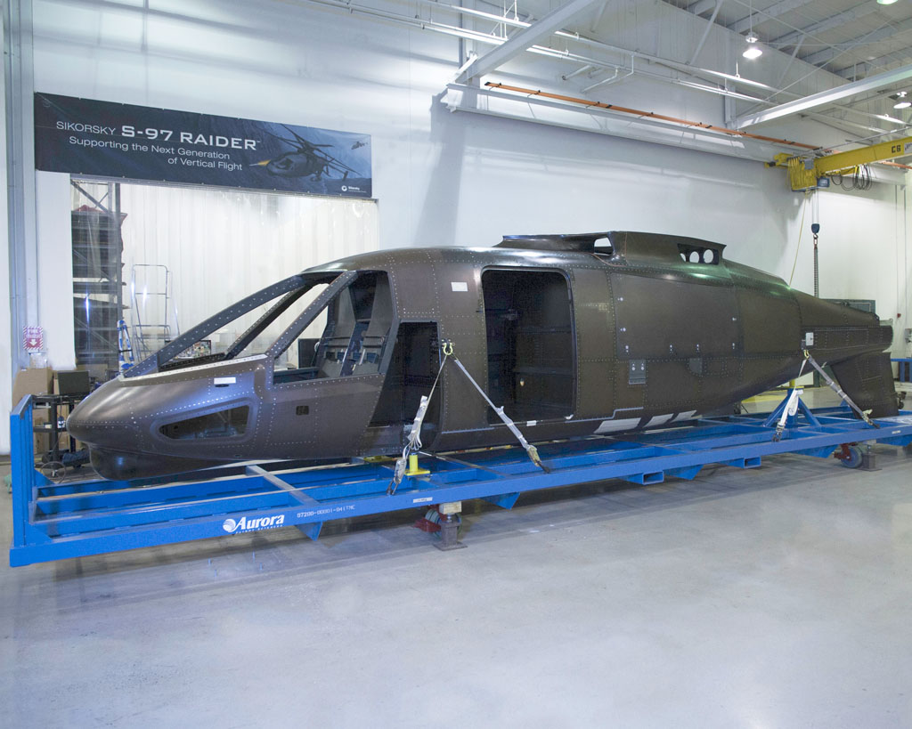 Fuselaje de S-97 Raider