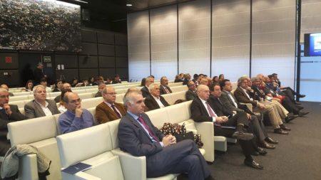 éxito de asistentes a la jornada de la SAE celebrada en el salón de actos del bufete de abogados Uria y Menéndez