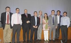 Conferenciantes y directivos de la SAE