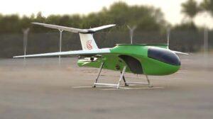 El segundo eStarling durante las pruebas de despegue y aterrizaje vertical y vuelo estacionario.