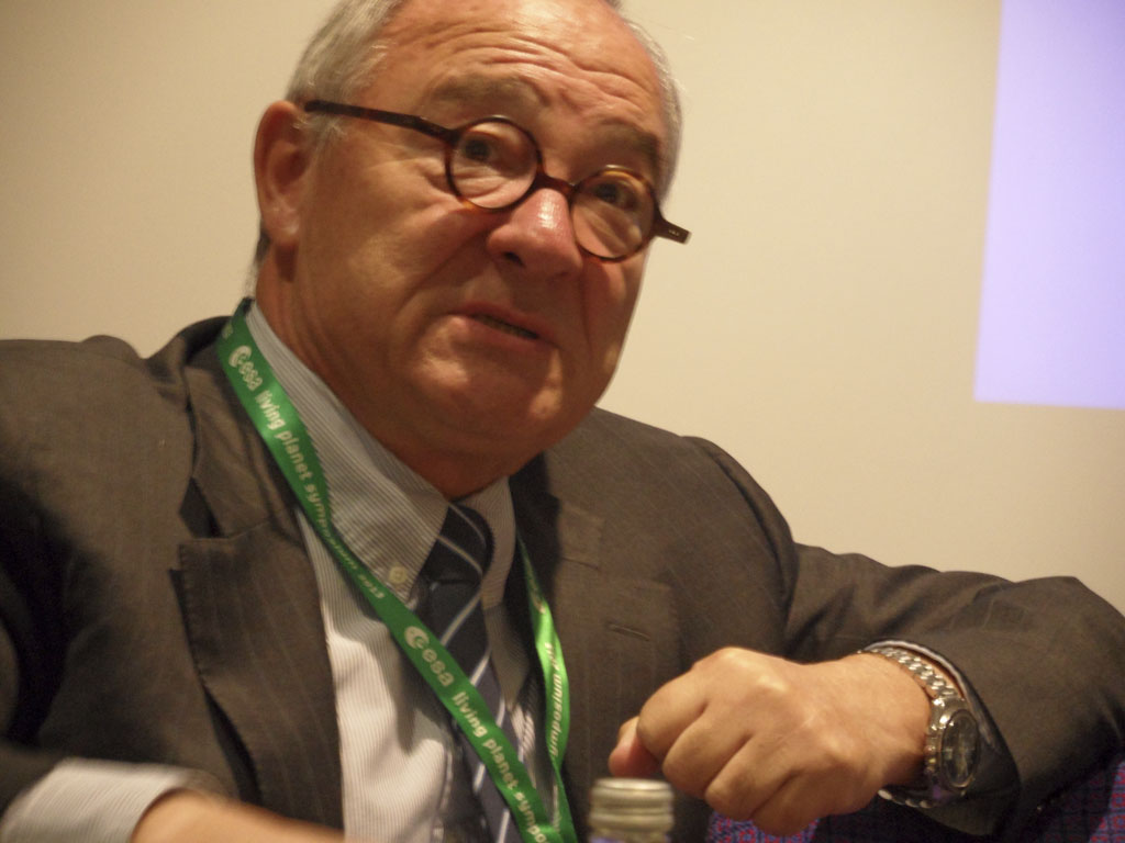 Jean-Jacques Dordain, director general de la Agencia Espacial Europea