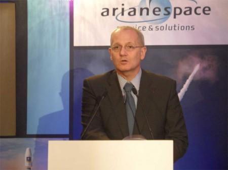 Arianespace eligió Madrid para presentar sus resultados del año 2012