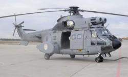 En los últimos años los AS332 Super Puma del SAR se han modificado para operar en zonas de combate