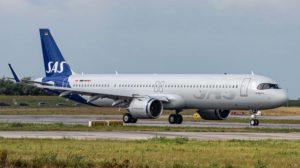 Primer Airbus A321neo entregado a SAS.