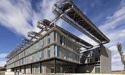 Nueva sede de SENER en Cataluña, donde se fabricará el sistema contratado para el KC390 de Embraer