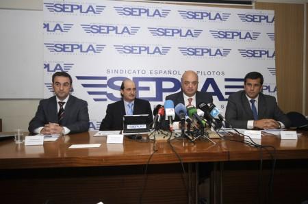 Rueda de prensa de SEPLA