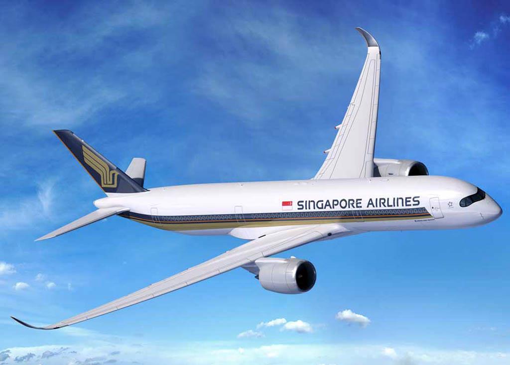 Exteriormente nada diferencia al nuevo Airbus A350-900ULR de los demás del modelo.