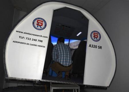 Simulador de A320 de Simloc