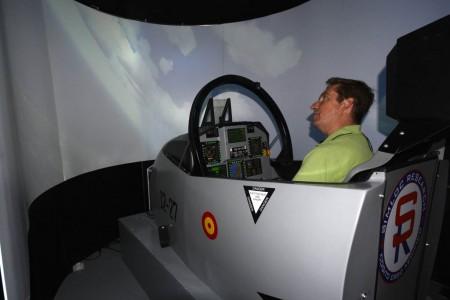 Simulador de F-18 de Simloc