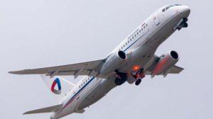 La aerolínea rusa Severstal es la primera usaria del SSJ100 con los nuevs saberlets.