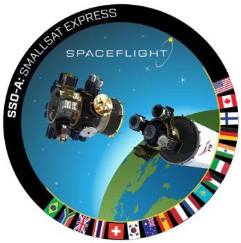 Logo de la misión SSO-A.