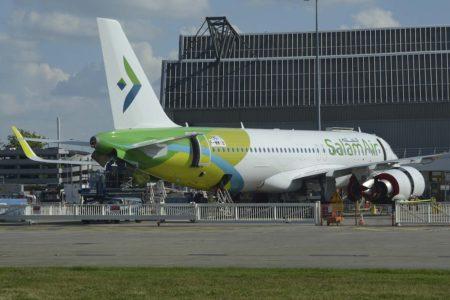 Salam Air recibió sus primeros A320neo en 2019.
