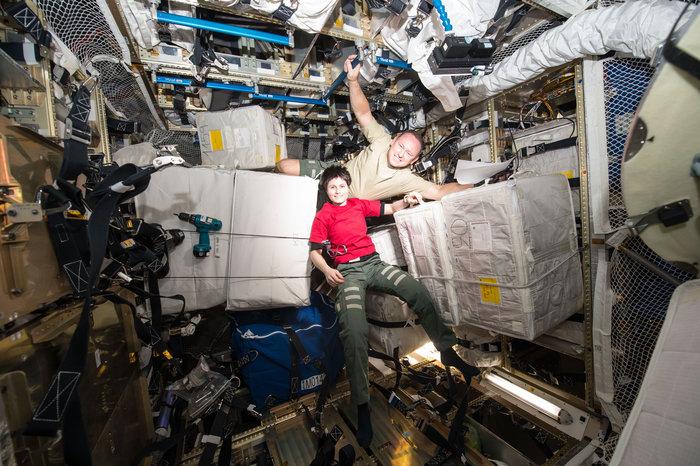 La astronauta Samantha Cristoforetti nos saludará mañana desde la Estación Espacial Internacional