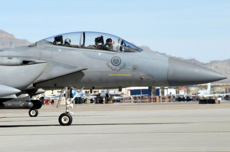 F-15 de Arabia Saudí