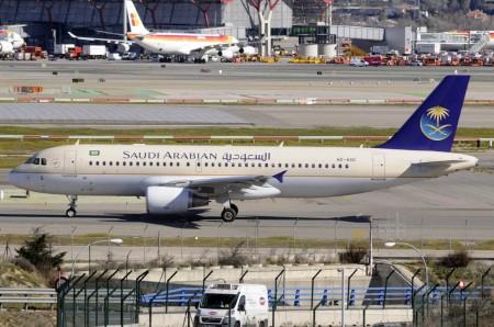 Airbus A320 de Saudi Arabian